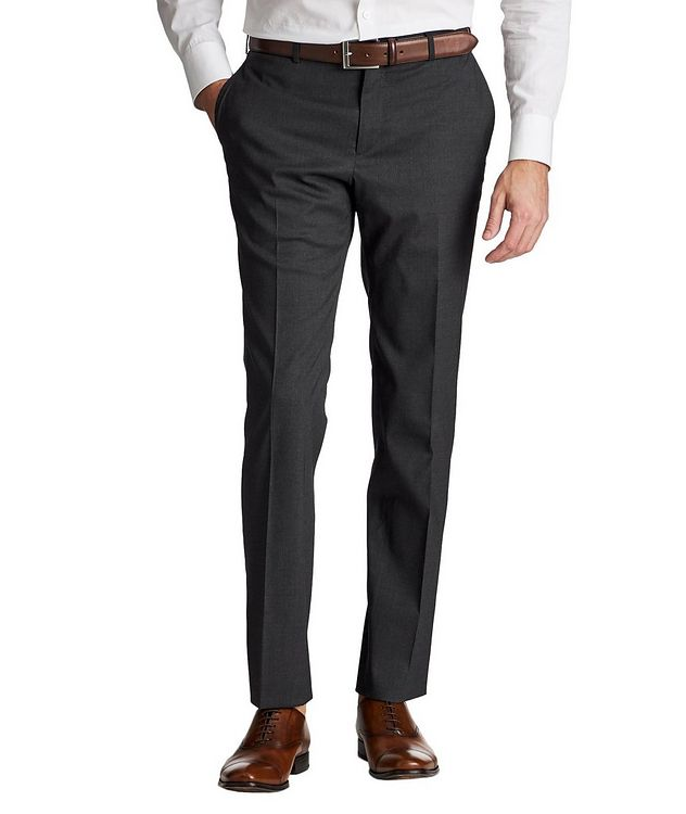 Stretch Wool-Silk Dress Pants picture 1