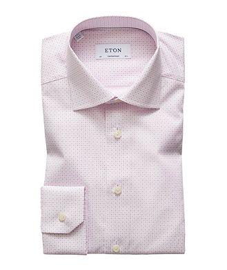 Eton Contemporary Fit Botanical-Printed Dress Shirt