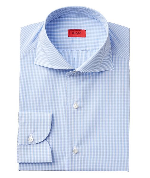 Contemporary Fit Gingham Dress Shirt picture 1