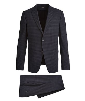 Z Zegna Tailor Drop 8 Checkered Suit