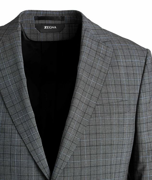 Tailor Drop 8 Windowpane Stretch-Wool Suit picture 2
