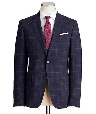 Z Zegna Tailor Drop 8 Stretch-Wool Suit