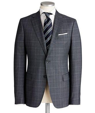 Z Zegna Drop 8 Checked Suit