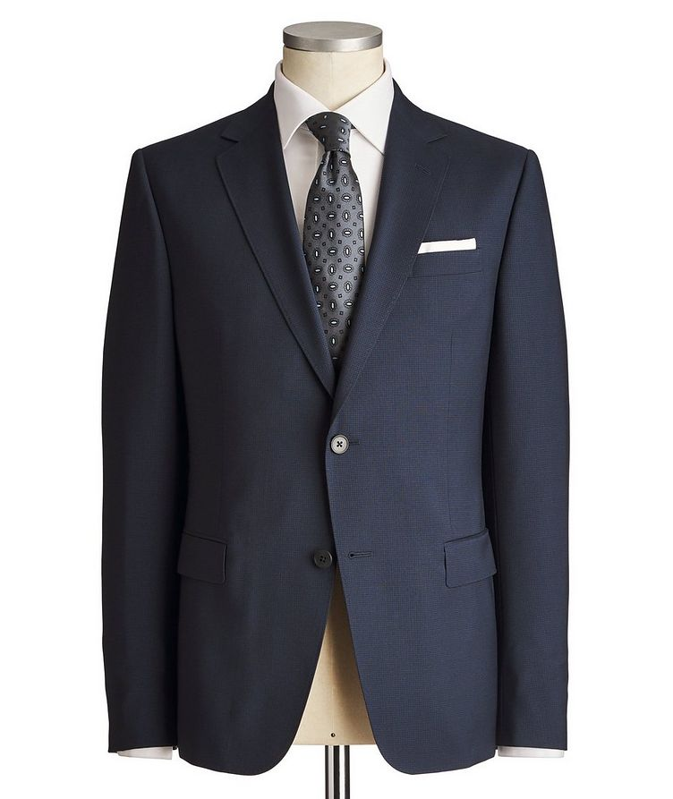 Drop 8 Micro-Checked Suit image 0