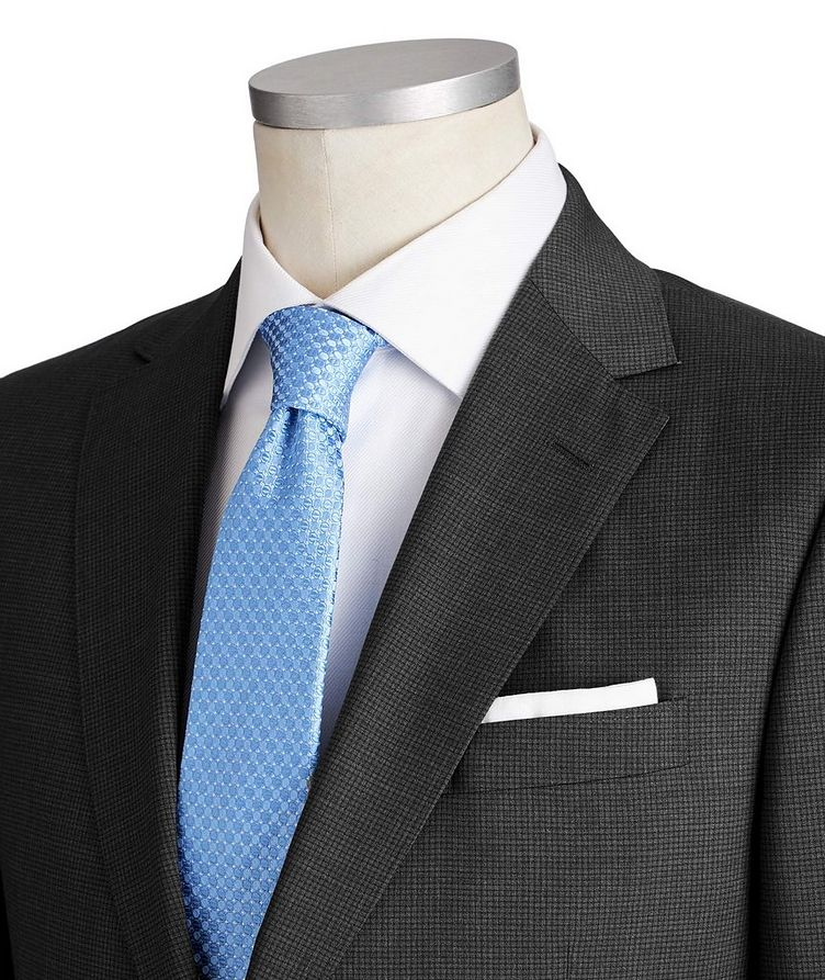 Tailor Drop 8 Checked Suit image 1