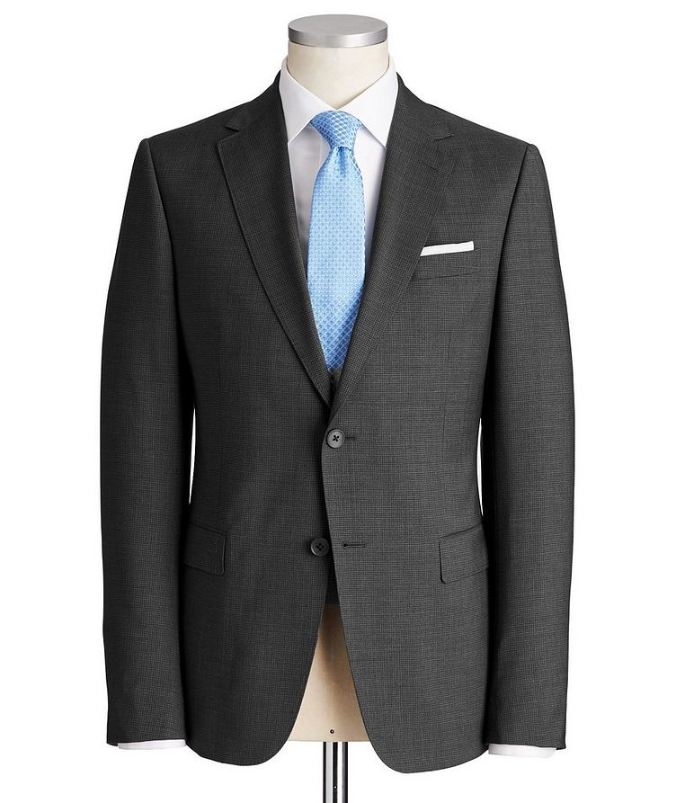 Tailor Drop 8 Checked Suit image 0