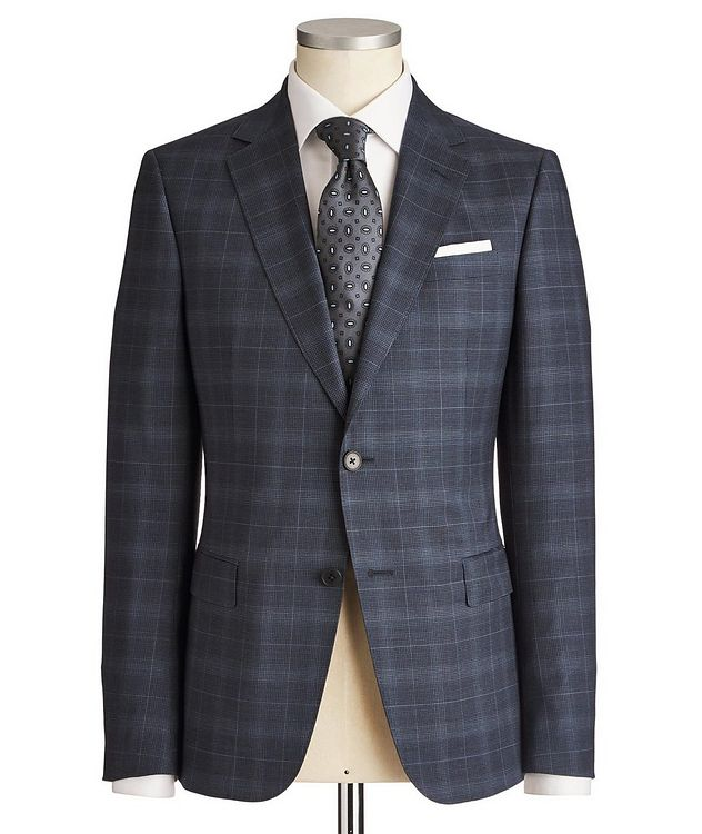 Drop 8 Windowpane-Check Suit picture 1