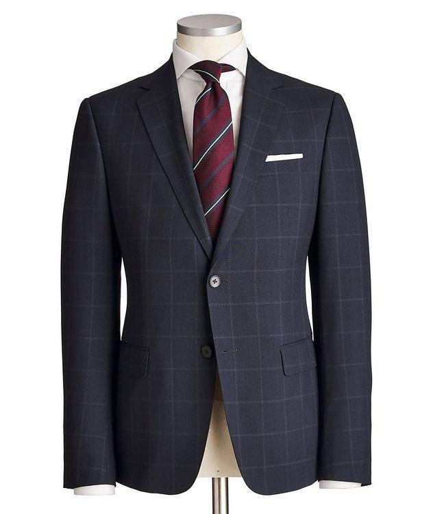 Tailor Drop 8 Windowpane Suit picture 1