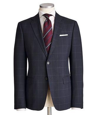 Z Zegna Tailor Drop 8 Windowpane Suit