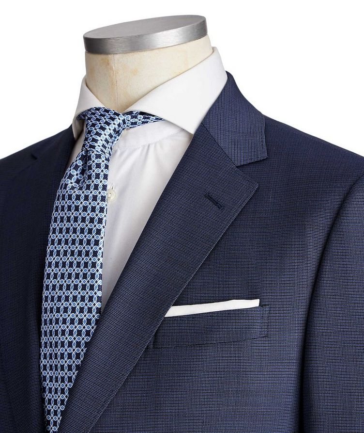 Drop 8 Crosshatched Suit image 1