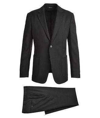 Z Zegna Complet Shirt Drop 8 en tissu Techmerino, collection Wash & Go