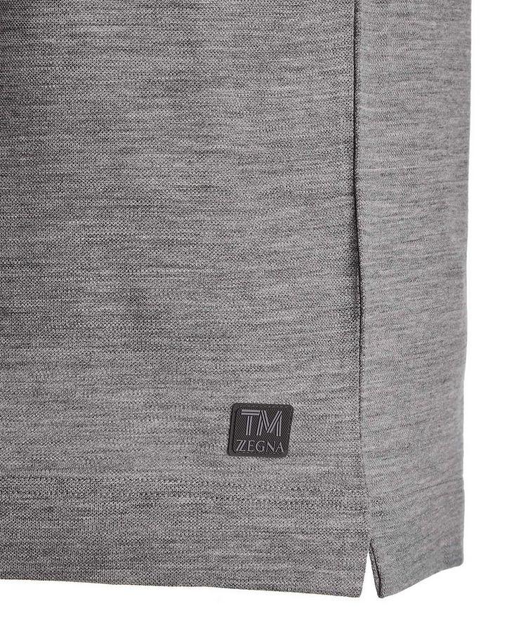 Polo en tissu Techmerino image 2