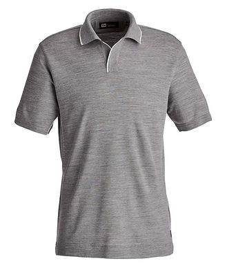 Z Zegna Techmerino Polo Shirt