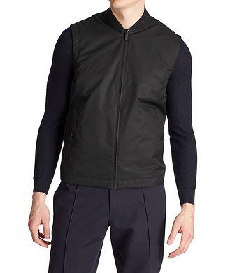 Z Zegna Reversible Water-Resistant Vest