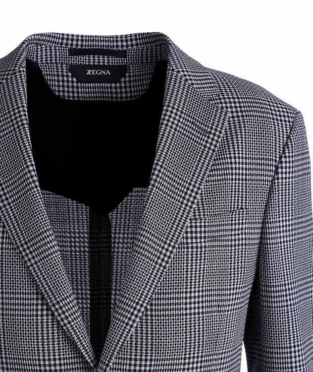 Deco Drop 8 Checked Stretch-Wool Sports Jacket picture 2
