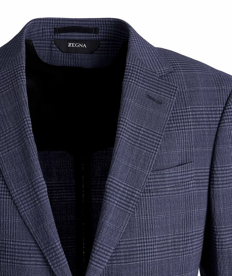 Deco Drop 8 Checked Stretch-Wool Sports Jacket image 2