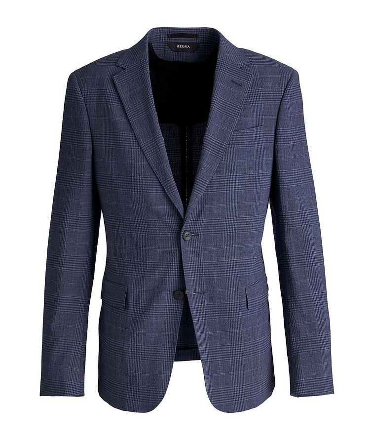 Deco Drop 8 Checked Stretch-Wool Sports Jacket image 0