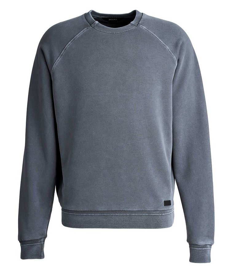 Washed Crew Neck Sweatshirt image 0