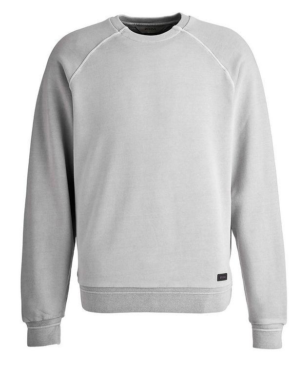 Washed Crew Neck Sweatshirt picture 1