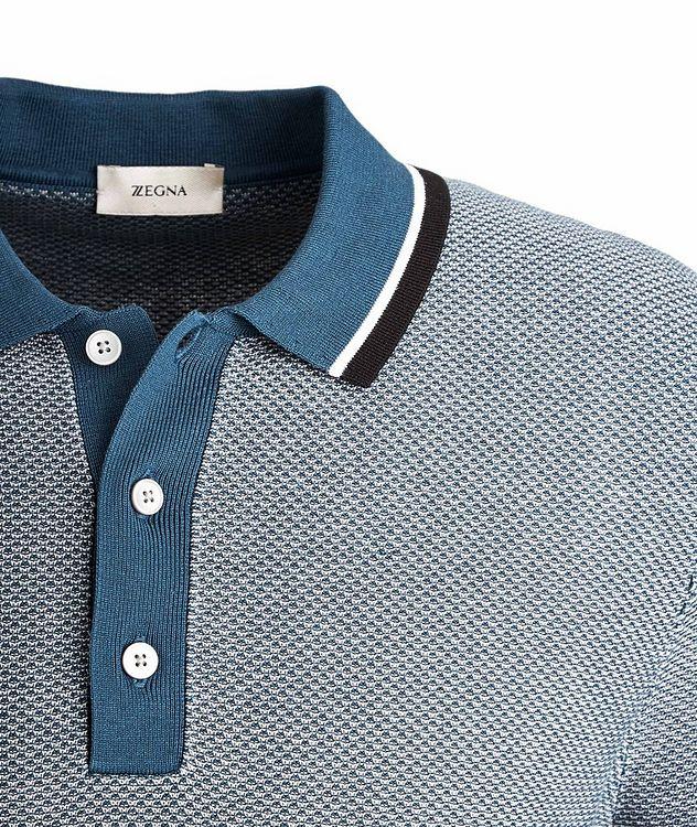 Silk-Cotton Jacquard Polo picture 2