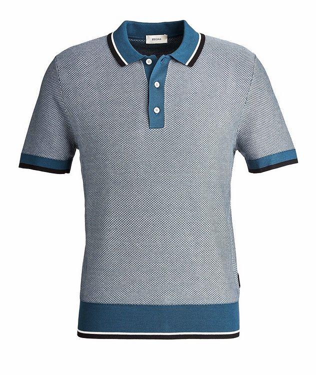 Silk-Cotton Jacquard Polo picture 1