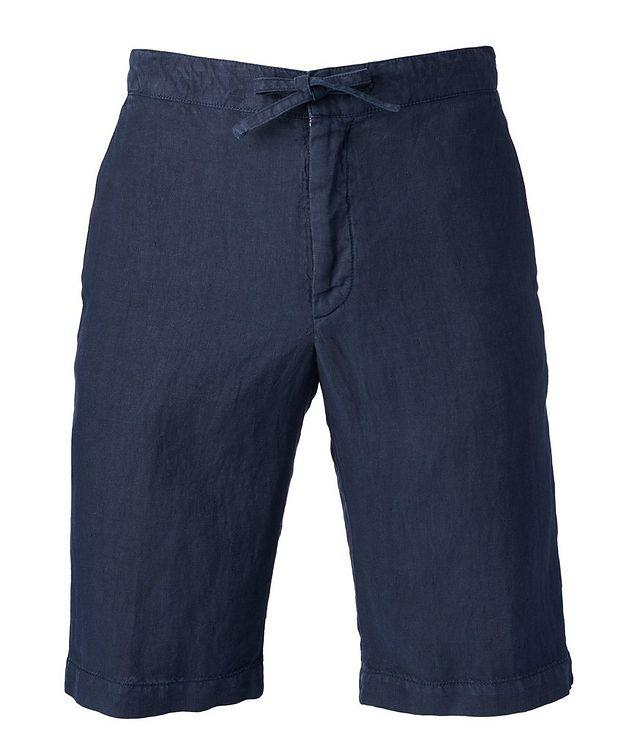 Linen Drawstring Bermuda Shorts picture 1
