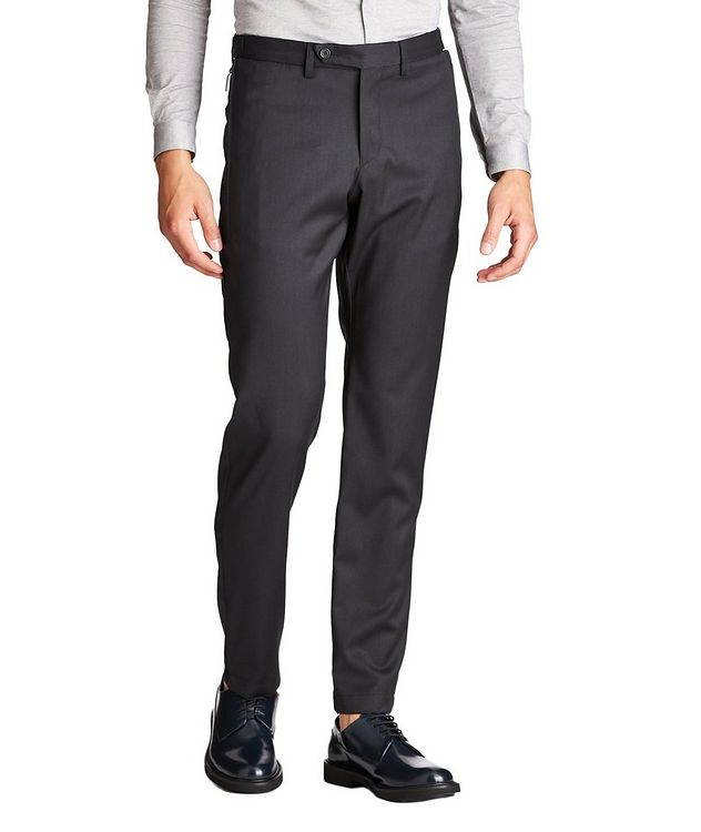 Zippered Virgin Wool Dress Pants picture 1