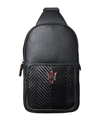 Ermenegildo Zegna Maserati Crossbody Backpack
