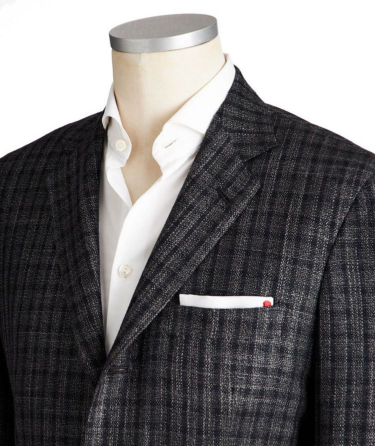 Contemporary Fit Cashmere, Silk & Wool Sports Jacket image 1