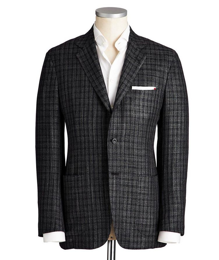 Contemporary Fit Cashmere, Silk & Wool Sports Jacket image 0