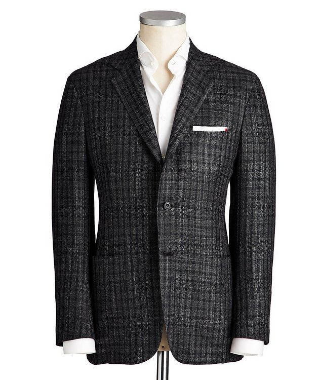 Contemporary Fit Cashmere, Silk & Wool Sports Jacket picture 1