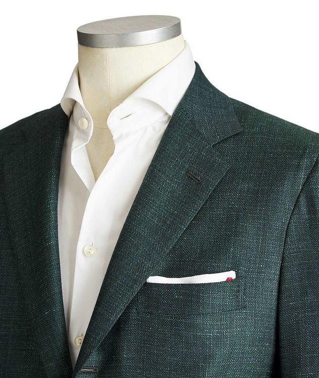 Contemporary Fit Cashmere, Silk & Linen Sports Jacket picture 2