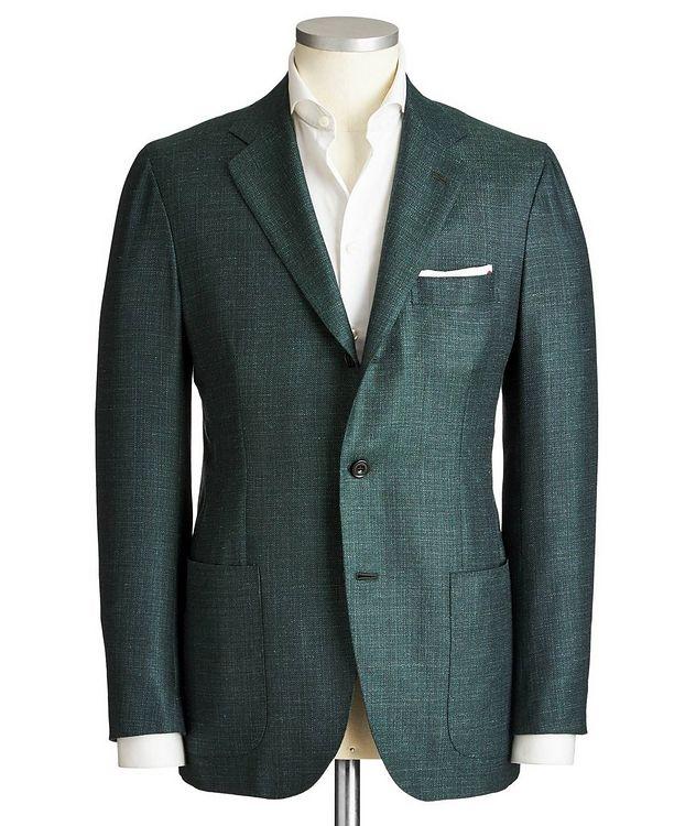 Contemporary Fit Cashmere, Silk & Linen Sports Jacket picture 1