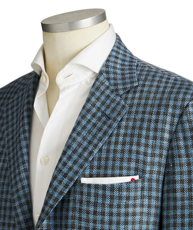 Contemporary Fit Cashmere, Wool & Silk Sports Jacket image 1