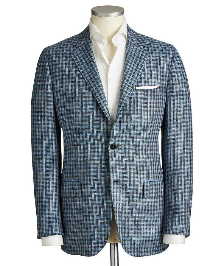 Contemporary Fit Cashmere, Wool & Silk Sports Jacket image 0