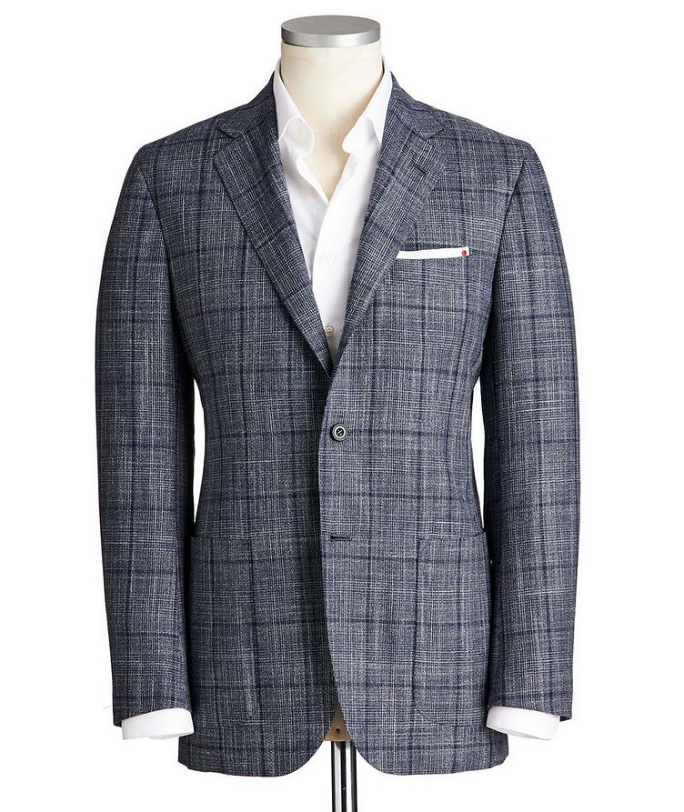 Contemporary Fit Cashmere, Wool, Silk & Linen Sports Jacket image 0