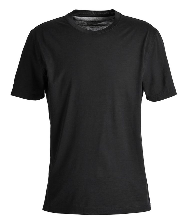 Silk-Cotton T-Shirt image 0