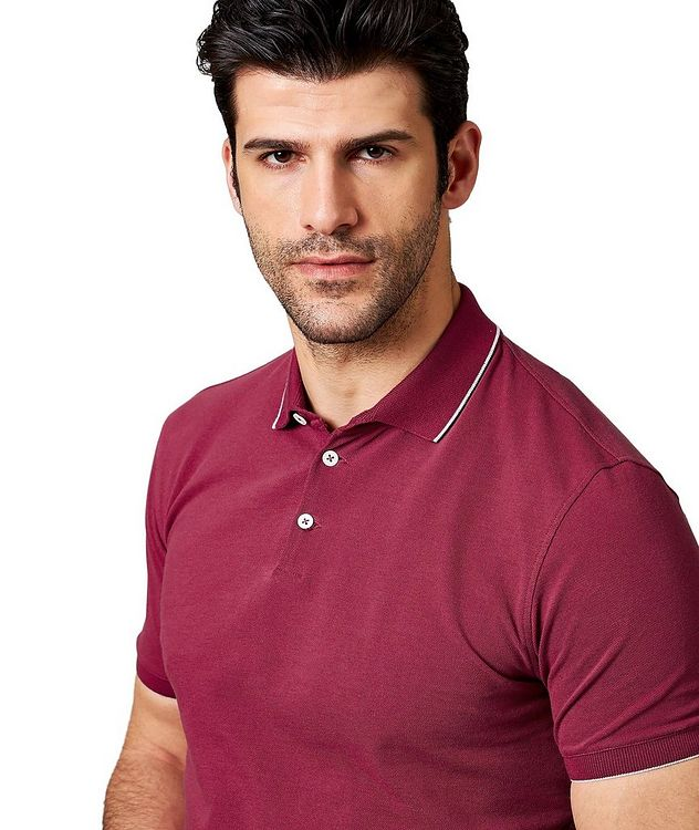 Cotton Piqué Polo picture 2