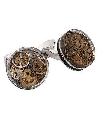 Tateossian London Skeleton Gears Cufflinks