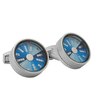 Tateossian London Wheel of Fortune Cufflinks