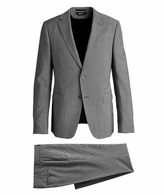 Z Zegna Tailor Drop 8 Patterned Suit