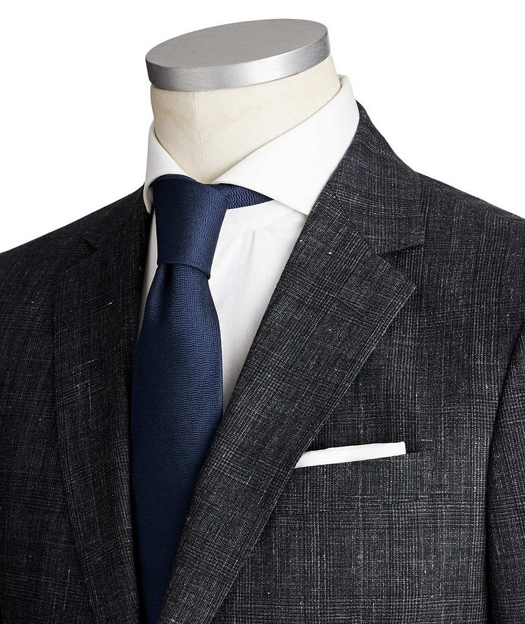 Drop 8 Glen Checked Suit image 1