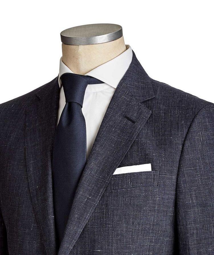 Drop 8 Houndstooth Linen-Wool Suit image 1
