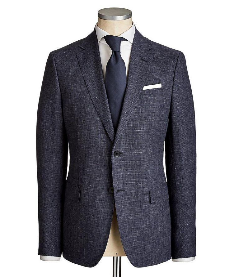 Drop 8 Houndstooth Linen-Wool Suit image 0