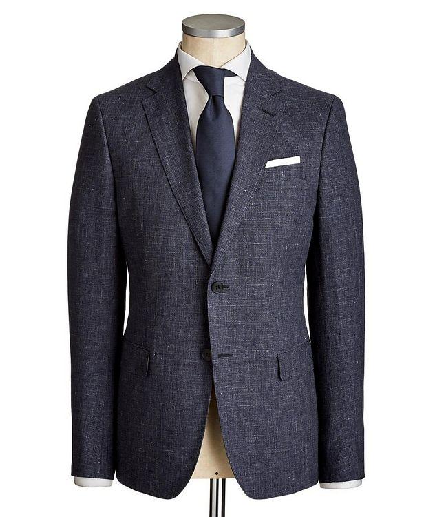 Drop 8 Houndstooth Linen-Wool Suit picture 1