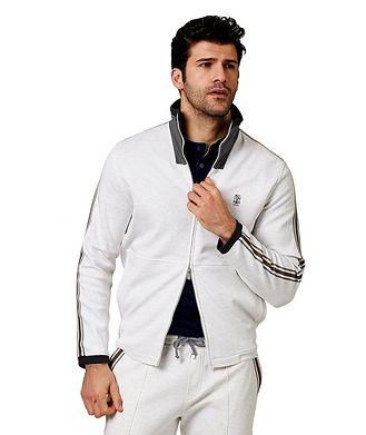 Brunello Cucinelli Zip-Up Track Jacket
