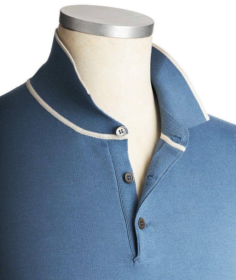 Polo en tricot de coton image 1