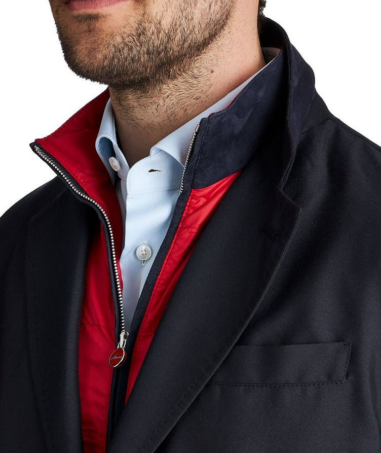 Down-Filled Cashmere Blend Sports Coat image 2