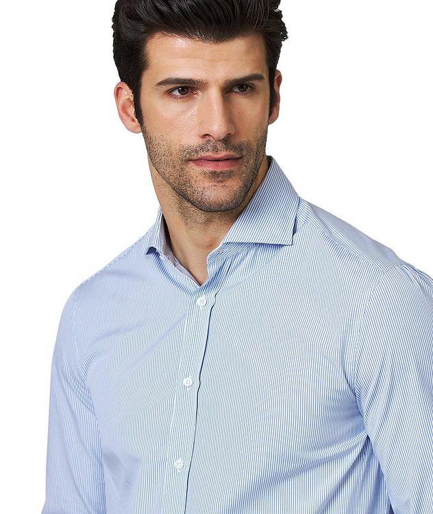 Chemise rayée en coton de coupe contemporaine picture 2