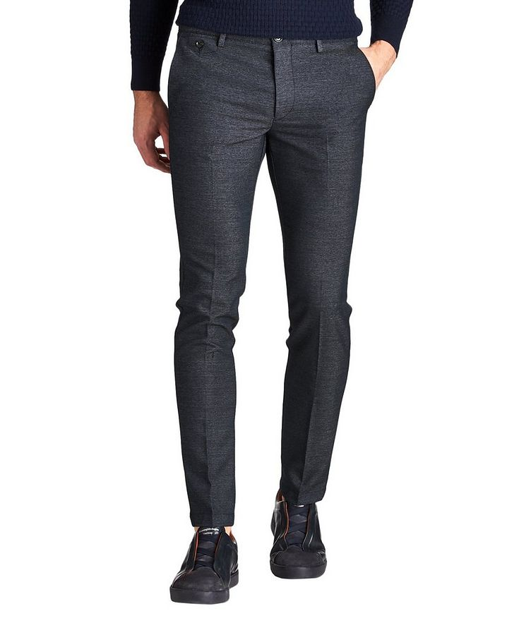 Kaito Slim Fit Stretch-Blend Pants image 0